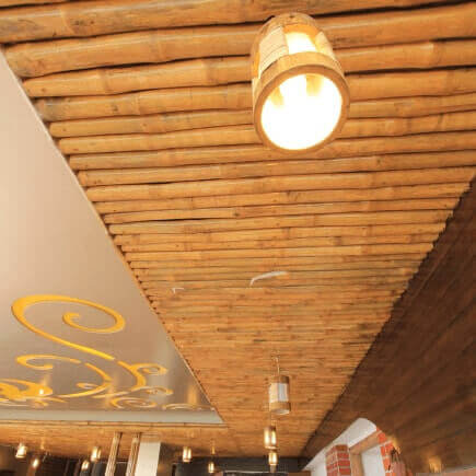 Bamboo structures, Products and furniture