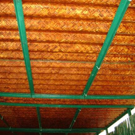 Bamboooz services for Bamboo roofing materials