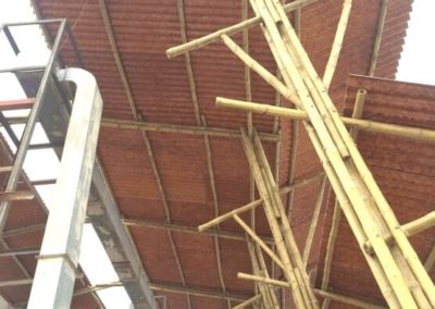 Bamboo made Roofing