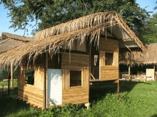 Green Buildings and Building Structure Using Bamboo