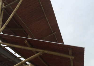 Bamboo made Roofing Solution