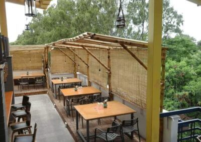 Bamboo made Roof Top Restaurant