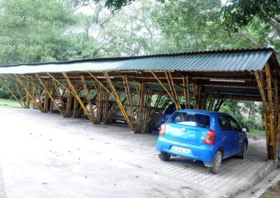 Bamboo Parking lot by Bamboooz