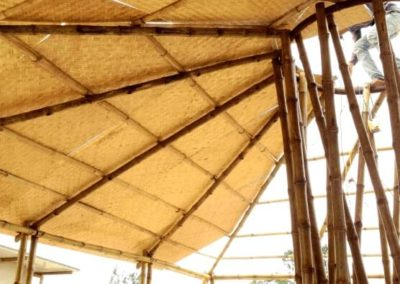 Bamboo Roofing