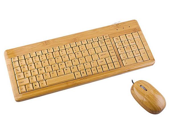 Bamboo Keyboard - Bamboooz