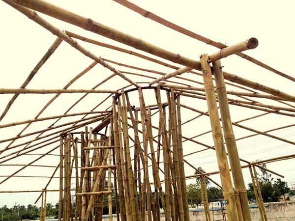bamboo truss - bamboooz