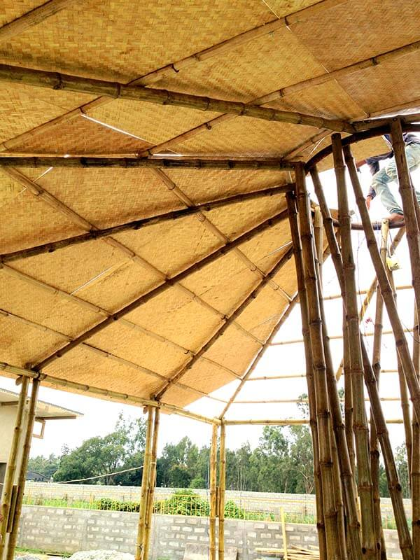 Bamboo Roofing Designs Techniques And Materials Bamboooz