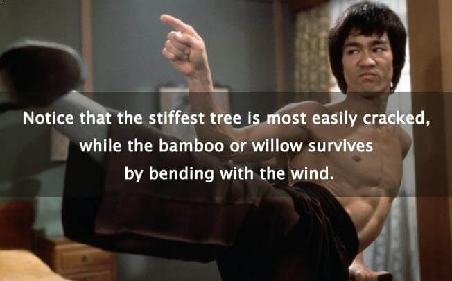 Bruce Lee Quote - Bamboo Quotes - Bamboooz