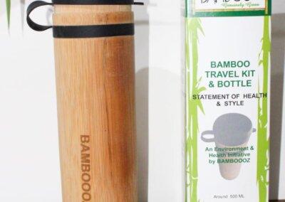 Water bottle bamboo