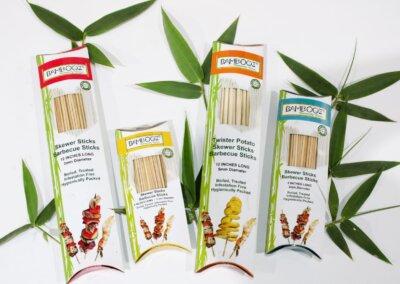 bamboo skewer sticks